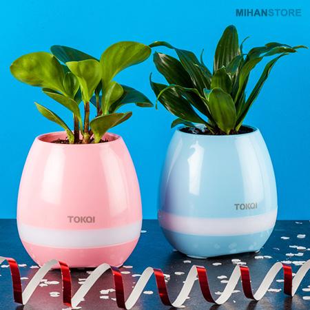 مشخصات، قیمت و خرید اسپیکر بلوتوثی و گلدان هوشمند مدل Smart ...