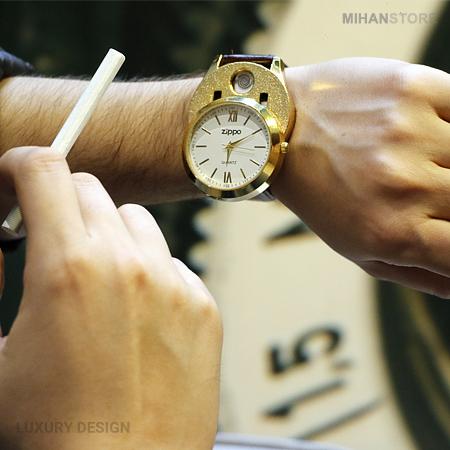 ساعت مچی فندک دار Zippo زیپو مردانه - فروشگاه اینترنتی ونجو