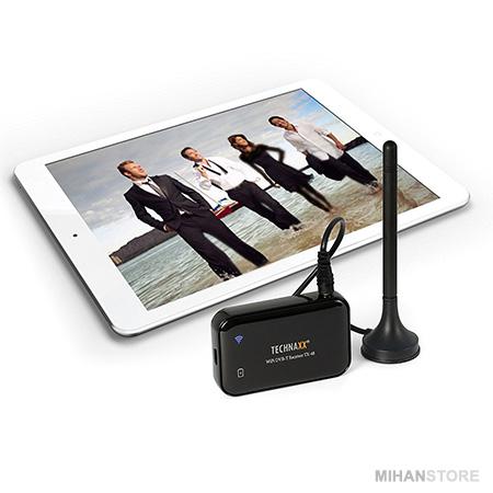 گیرنده دیجیتال WiTV دستگاهی قابل حمل می باشد که قابلیت دریافت سیگنال های دیجیتال تلویزیون با کیفیت بالا و ارسال سیگنال به موبایل و تبلت به صورت بی سیم (WiFi) را دارد. این گیرنده با دارا بودن باطری داخلی قابل شارژ با کارکرد حدود سه ساعت امکان استفاده در حال حرکت و جابجایی را به شما می دهد. گیرندگی بالا بدون نیاز ...